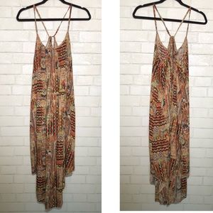 Oxford Circus Aztec Boho Print Handkerchief Dress